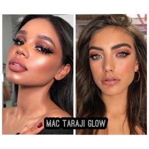 MAC taraji glow skinfinish and blush
